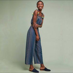 Anthropologie Laia Naomi Striped Jumpsuit Medium